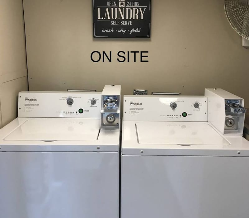 Laundry Facility (Resident use only)